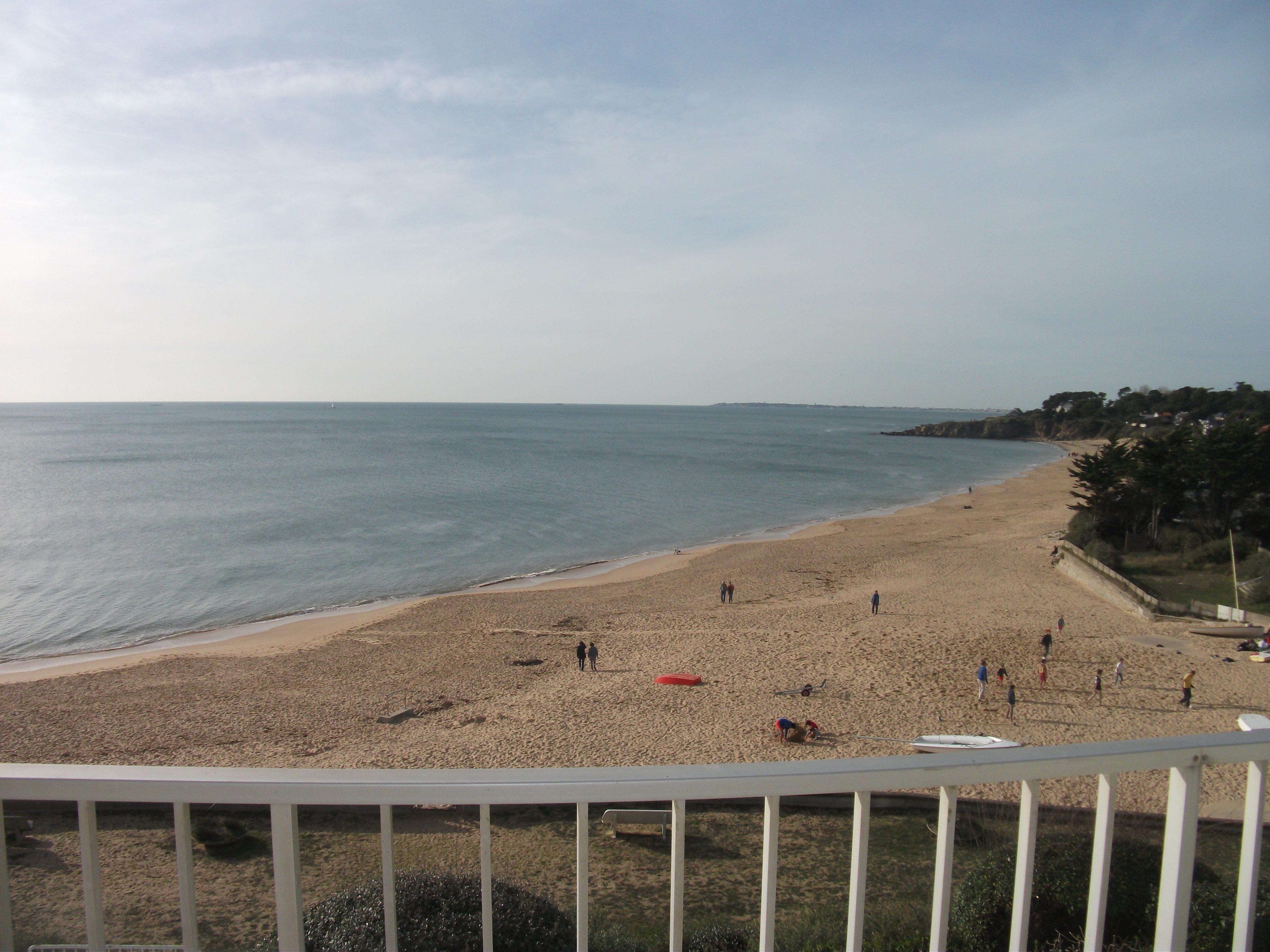 A vendre T3 -PORNICHET – Face mer accès direct plage -terrasse – garage